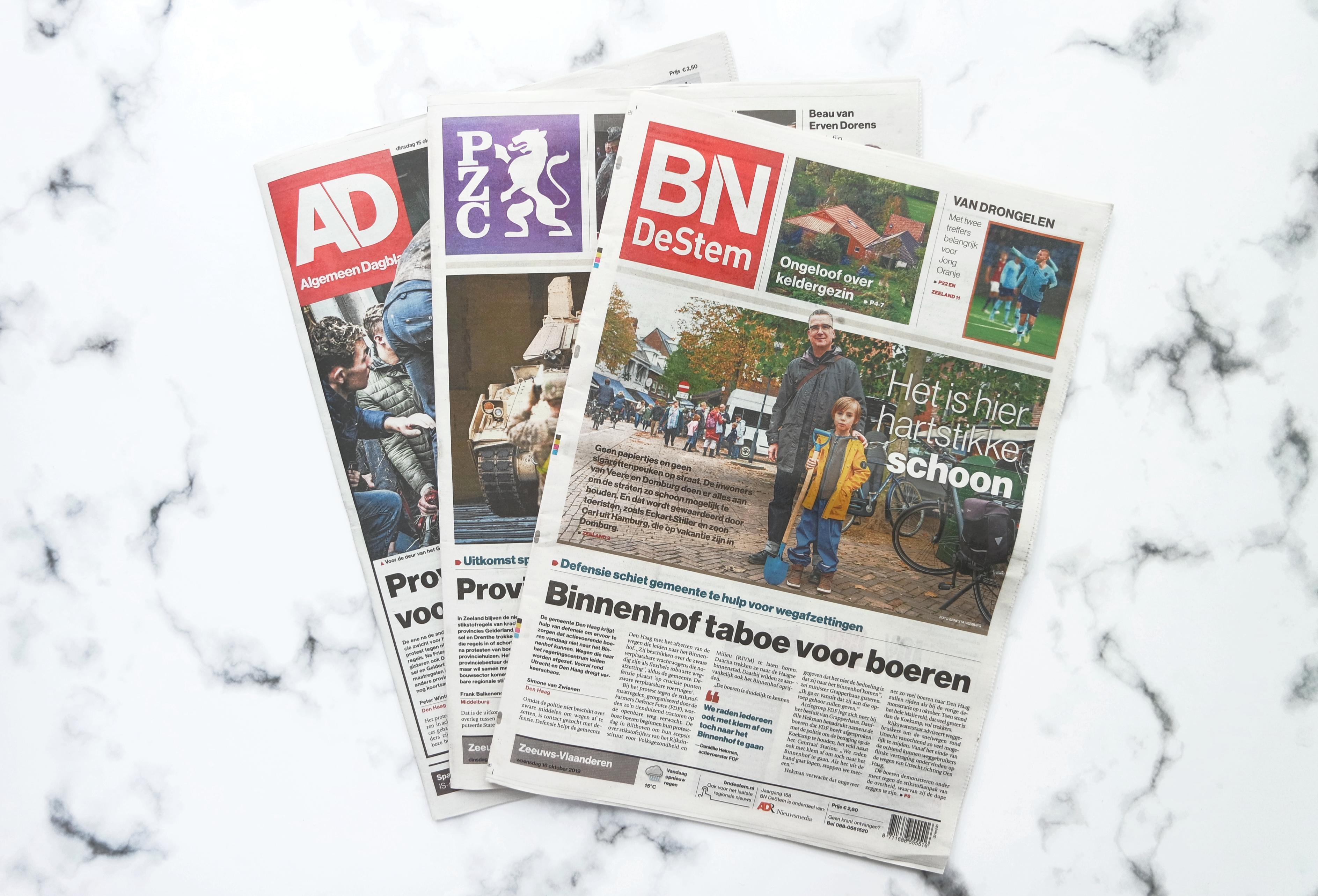 Journalist PZC BN DeStem AD